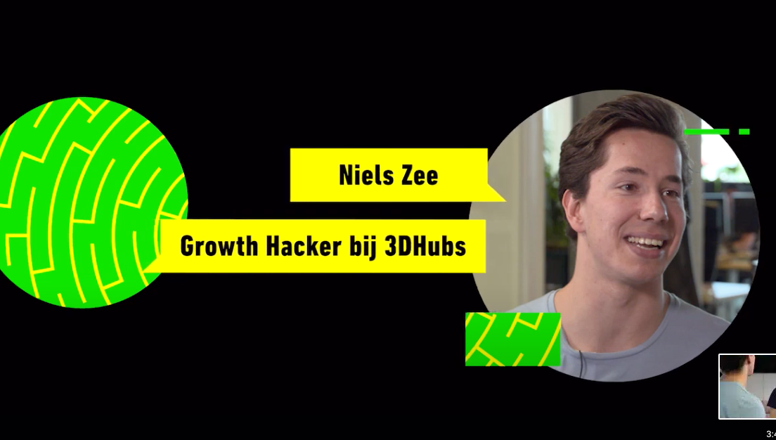 [Video] Growth Hacking explanation for Tekkieworden – initiative to get people excited about tech (NL)