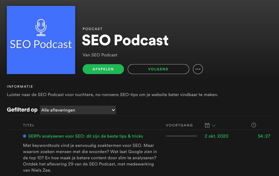[Podcast] De SEO Podcast – SERPS Analyseren voor SEO: dit zijn de beste tips & tricks